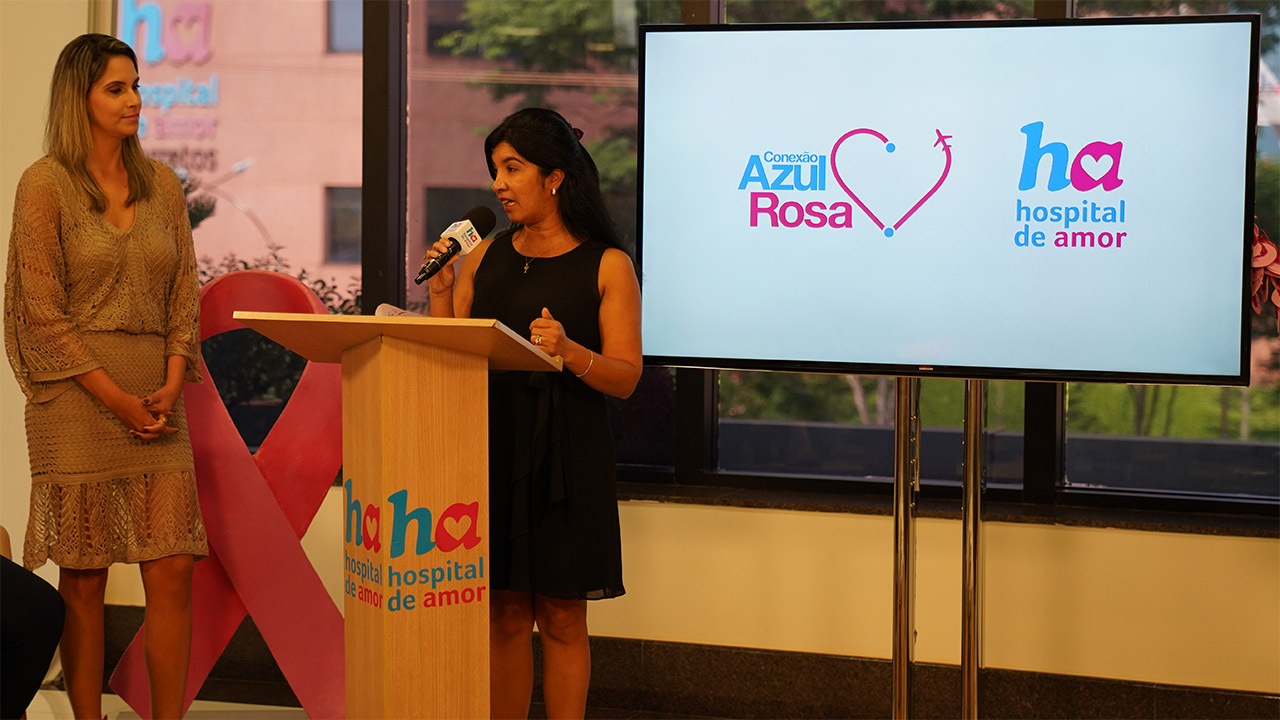 Hospital de Amor e Azul Linhas Aéreas: uma parceria de sucesso