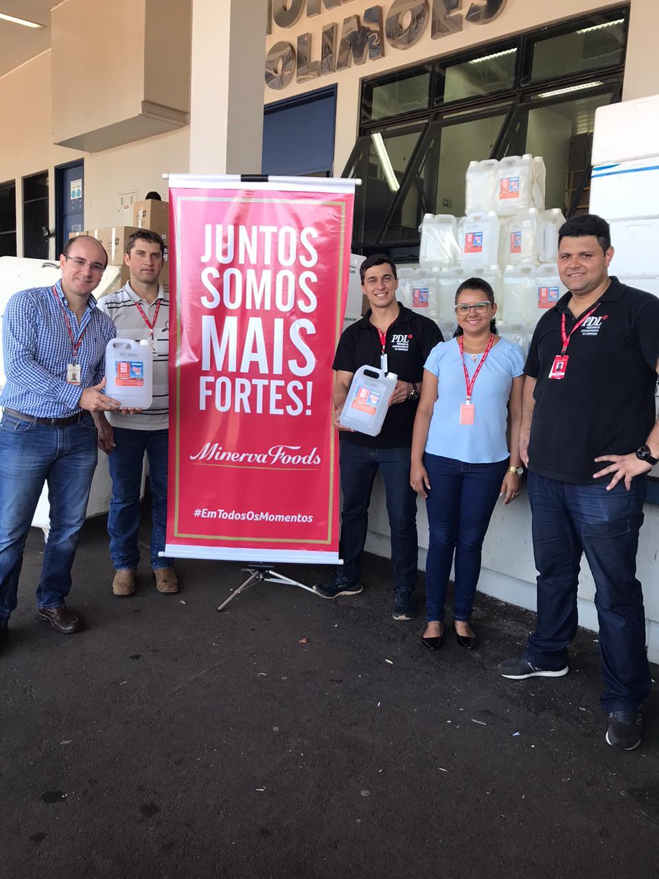 Minerva Foods realiza doação