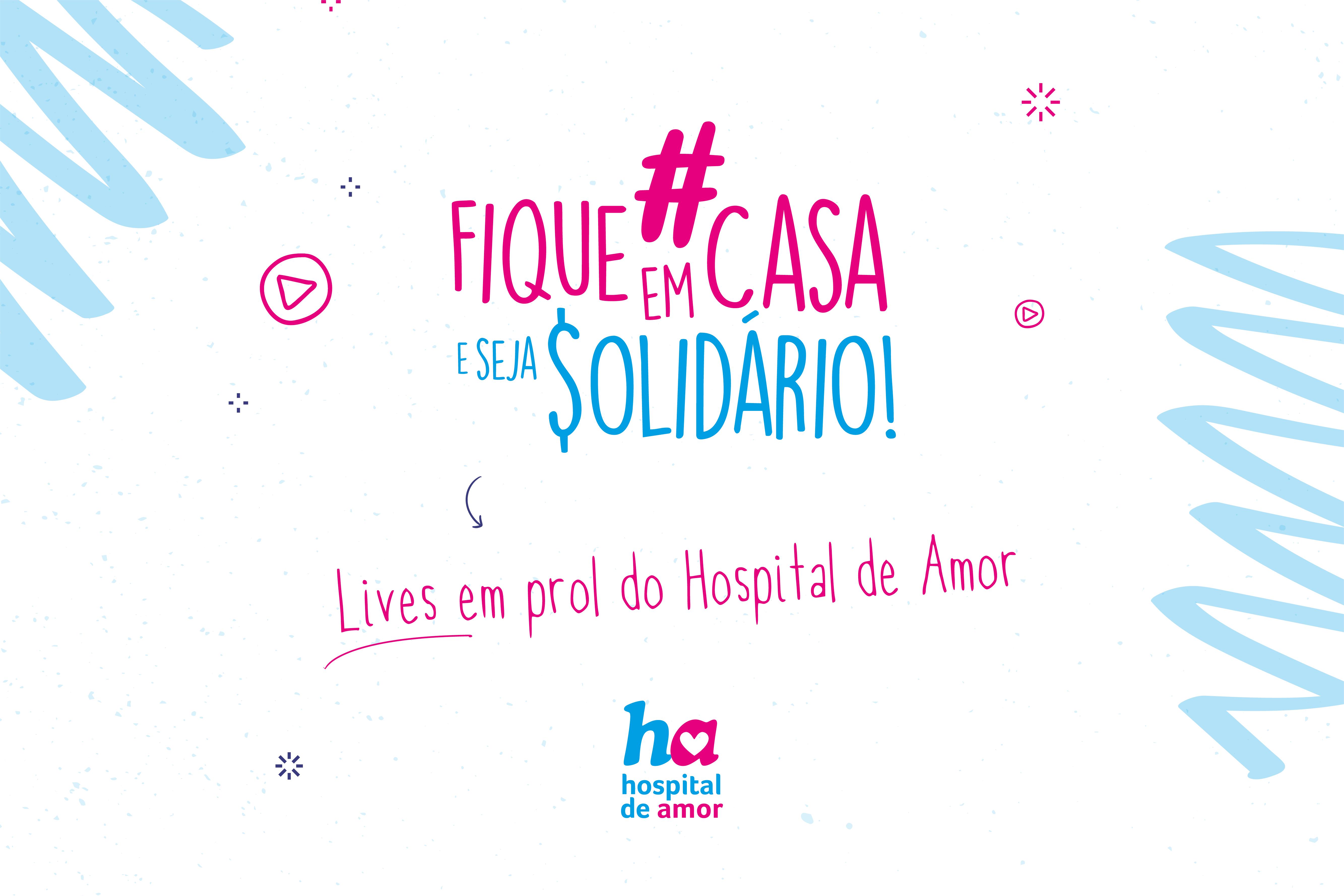 Fique em Casa e Seja Solidário: descubra quais lives de cantores estão acontecendo em prol do Hospital de Amor