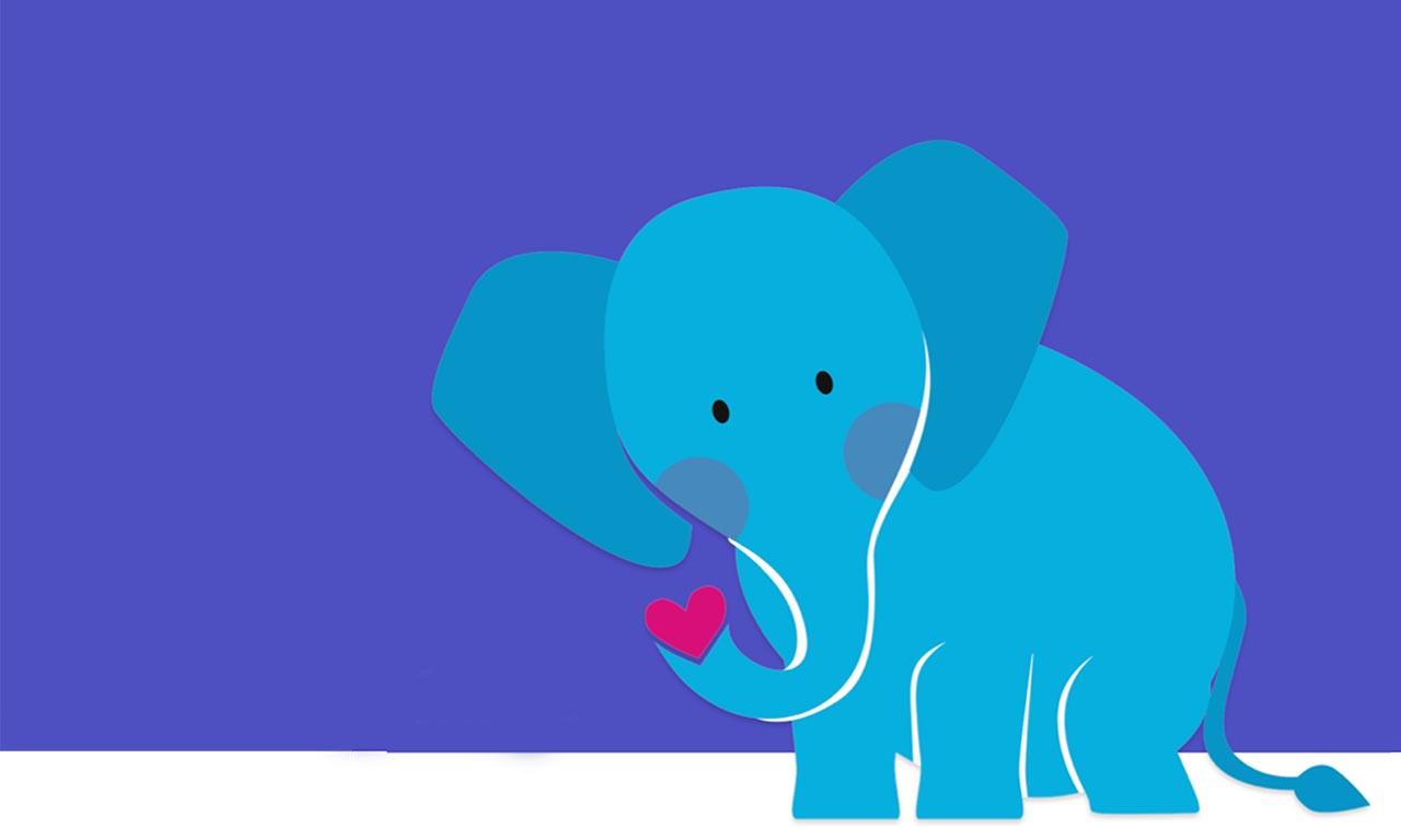 Hospital de Amor apresenta seu novo mascote: o simpático elefante Mamu