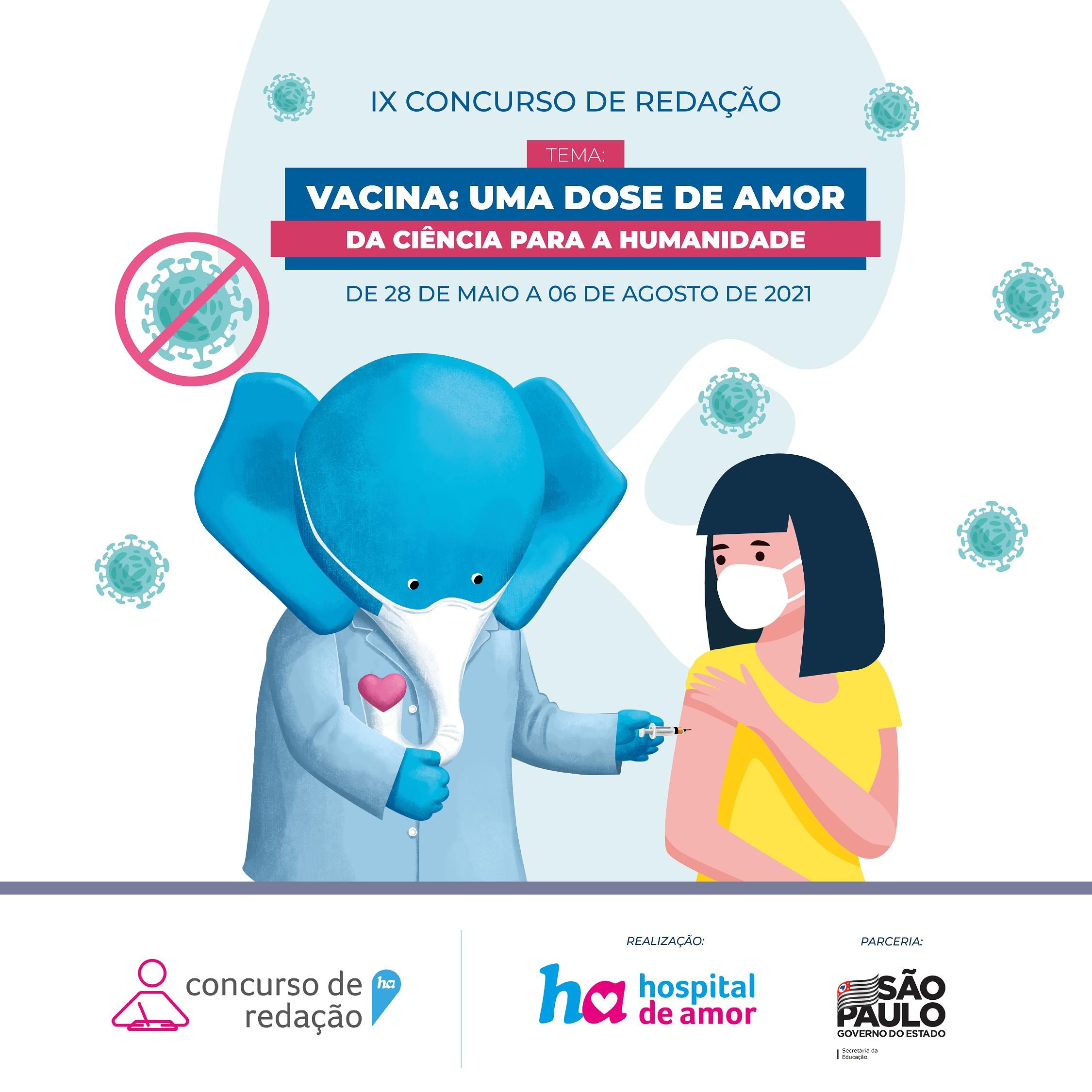 Núcleo de Educação em Câncer (NEC) lança 9ª edição do Concurso de Redação do Hospital de Amor