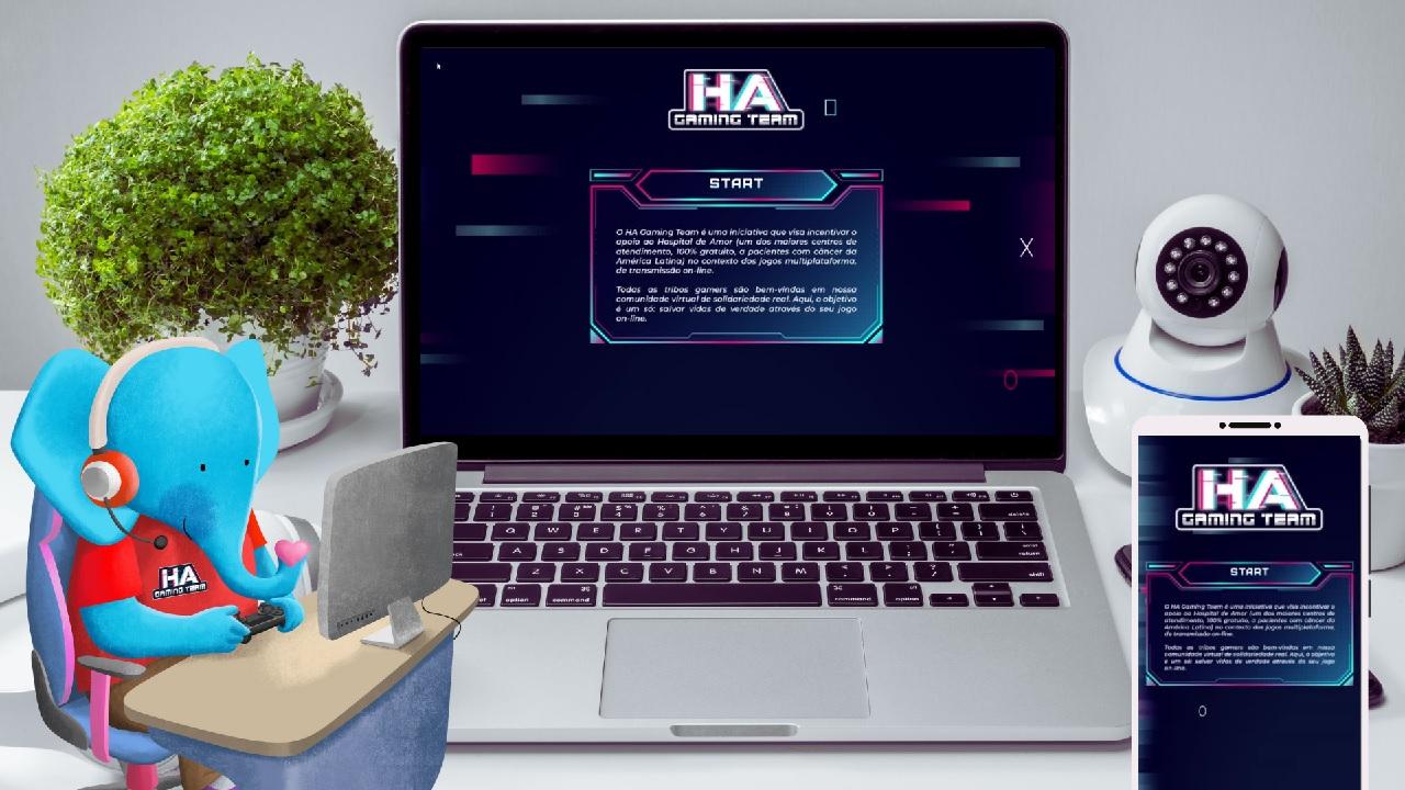HA Gaming Team: conheça o novo projeto de captação de recursos do Hospital de Amor