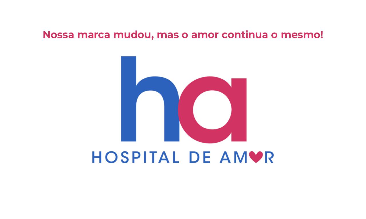 Hospital de Amor faz campanha e muda o layout de sua marca
